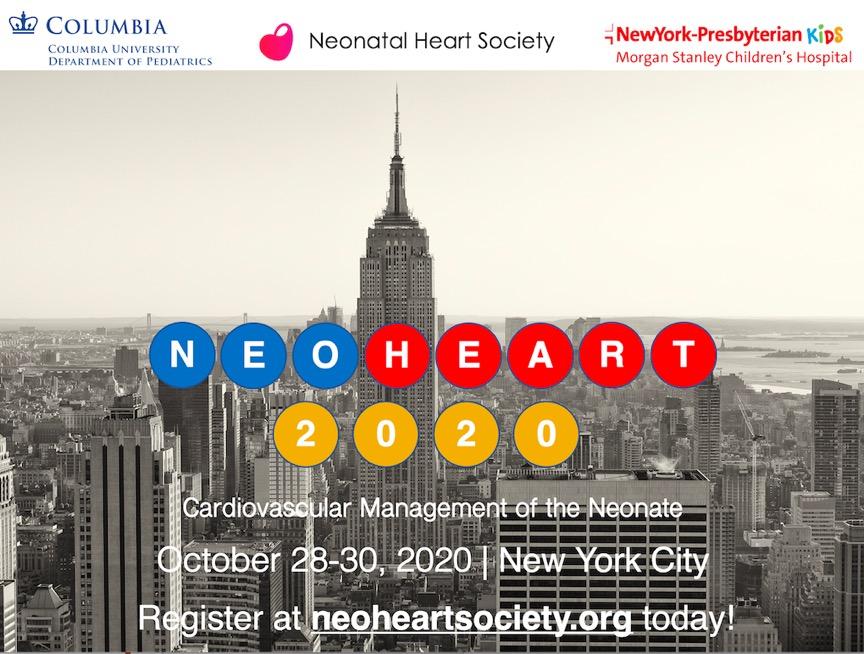 Meetings and Calendar – Neonatal Heart Society